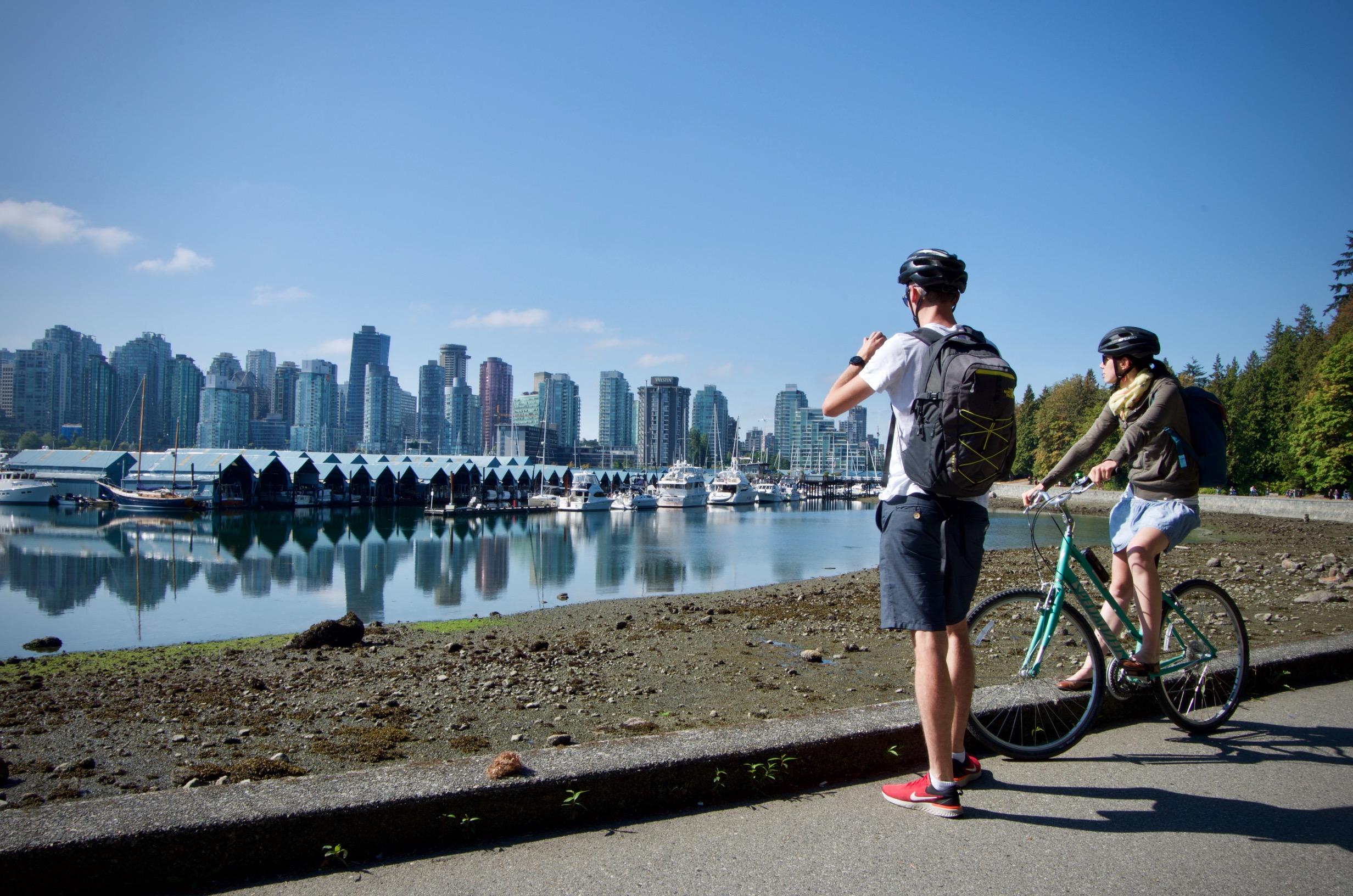 vancouver en vélo