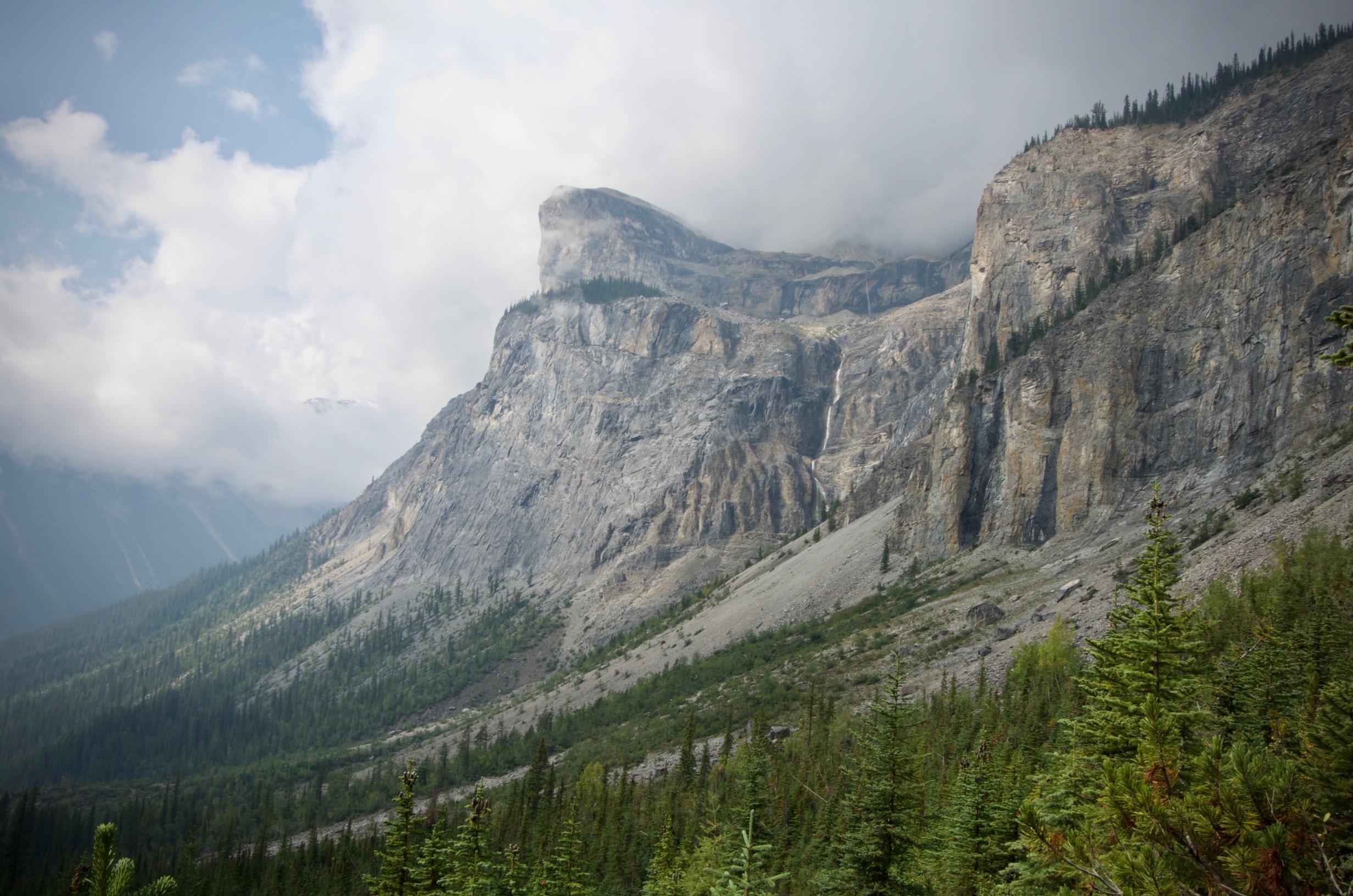 montagne yoho pass