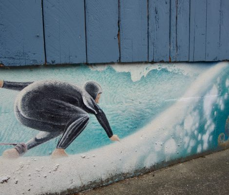 grafiti surfeur