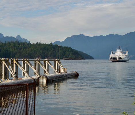 ferry vers sunshine coast